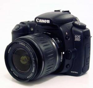 APN Canon EOS 20D