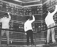 histoire boursière